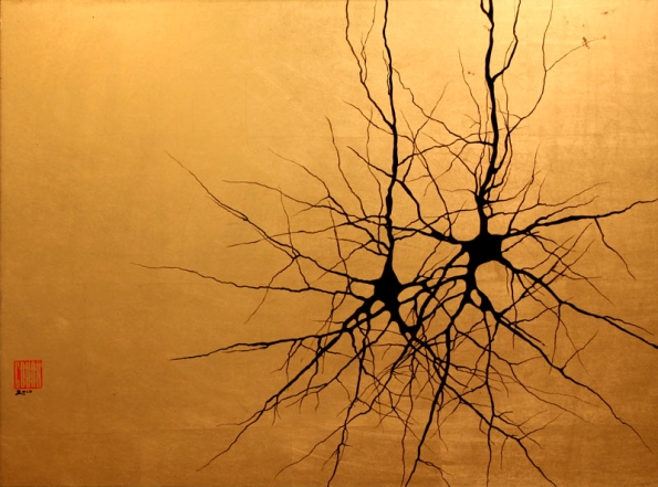 Neuroscience artwork by Greg Dunn